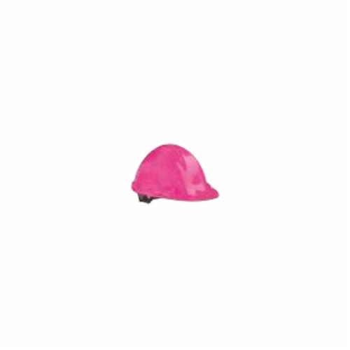 North® by Honeywell A79200000 Peak Front Brim Hard Hat, SZ 6-1/2 Fits Mini Hat, SZ 8 Fits Max Hat, HDPE, 4-Point Nylon Suspension, ANSI Electrical Class Rating: Class E, ANSI Impact Rating: Type I, Pin Lock Adjustment