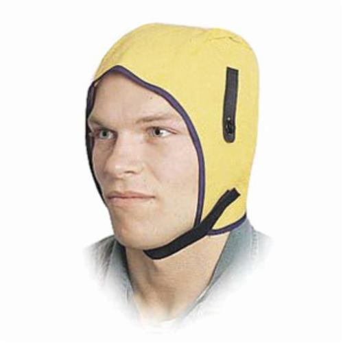 North® by Honeywell WL3 Light Duty Winter Liner, For Use With Hard Hats, Universal, 18-4/5 in L, Flannel Lining, Yellow
