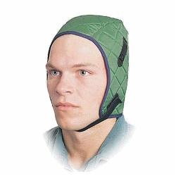 North® by Honeywell WL4 Deluxe Medium Duty Winter Liner, For Use With Hard Hats, Universal, Quilted Tricot, Green