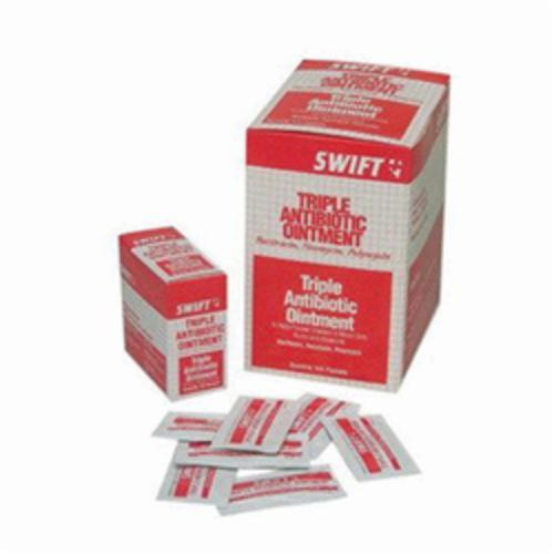 North® by Honeywell 231209G Swift® Triple Antibiotic Ointment, Foil Pack Packing, Formula: Bacitracin/Neomycin and Polymyxin-B