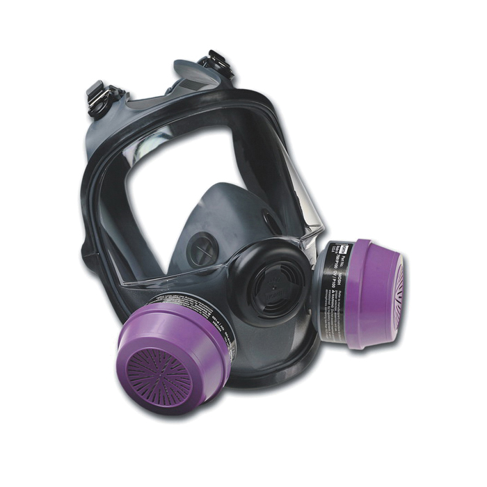 Honeywell North® 54001 Full Facepiece Respirator, M to L, Thread Connection