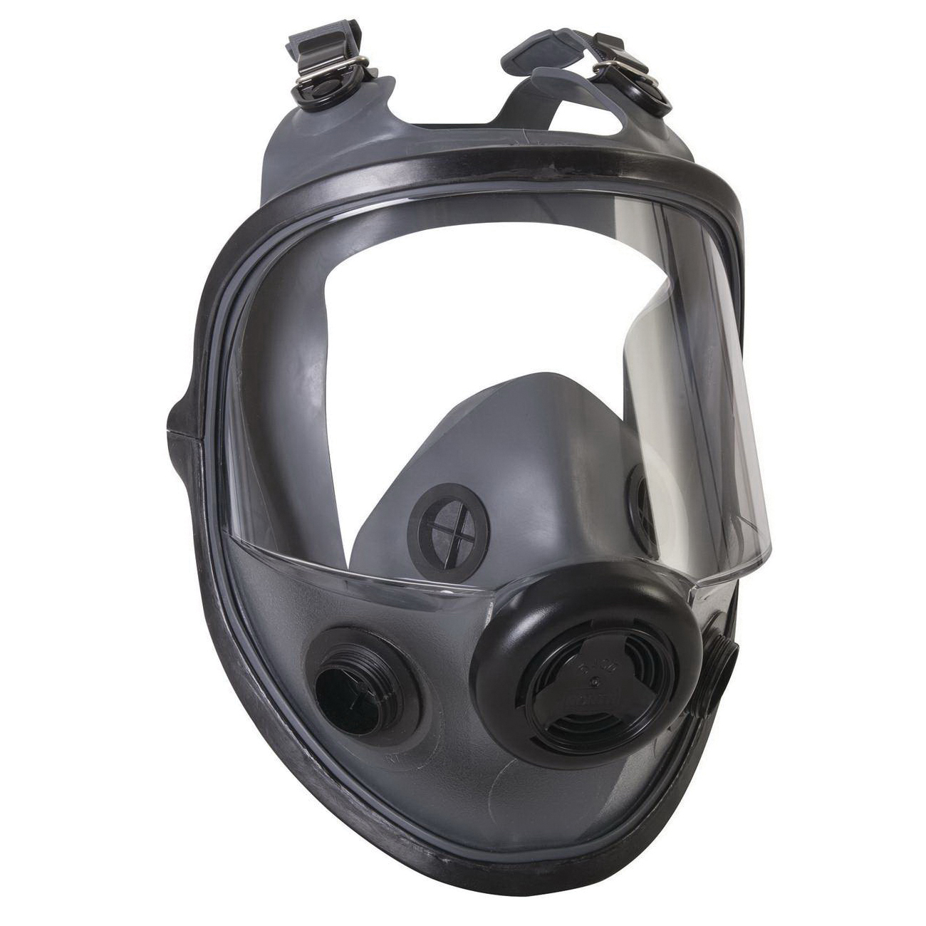 North® by Honeywell 54001 Full Facepiece Respirator, M to L, Thread Connection