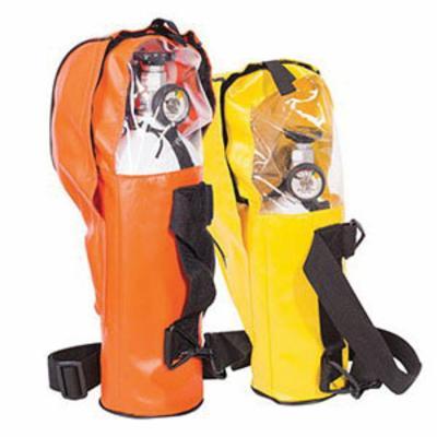 North® by Honeywell 975647 Escape Breathing Apparatus, 10 min Escape Duration, 32 Lpm, Aluminum Cylinder, Polyurethane Facepiece, 3000 psi