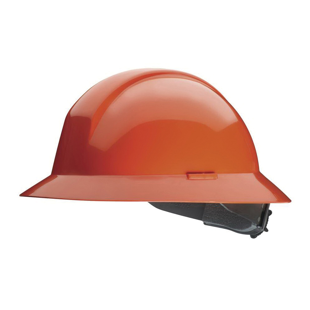 North® by Honeywell A49R030000 Everest Full Brim Hard Hat, SZ 6-1/2 Fits Mini Hat, SZ 8 Fits Max Hat, HDPE, 6-Point Nylon Suspension, ANSI Electrical Class Rating: Class E, ANSI Impact Rating: Type I, Ratchet Adjustment