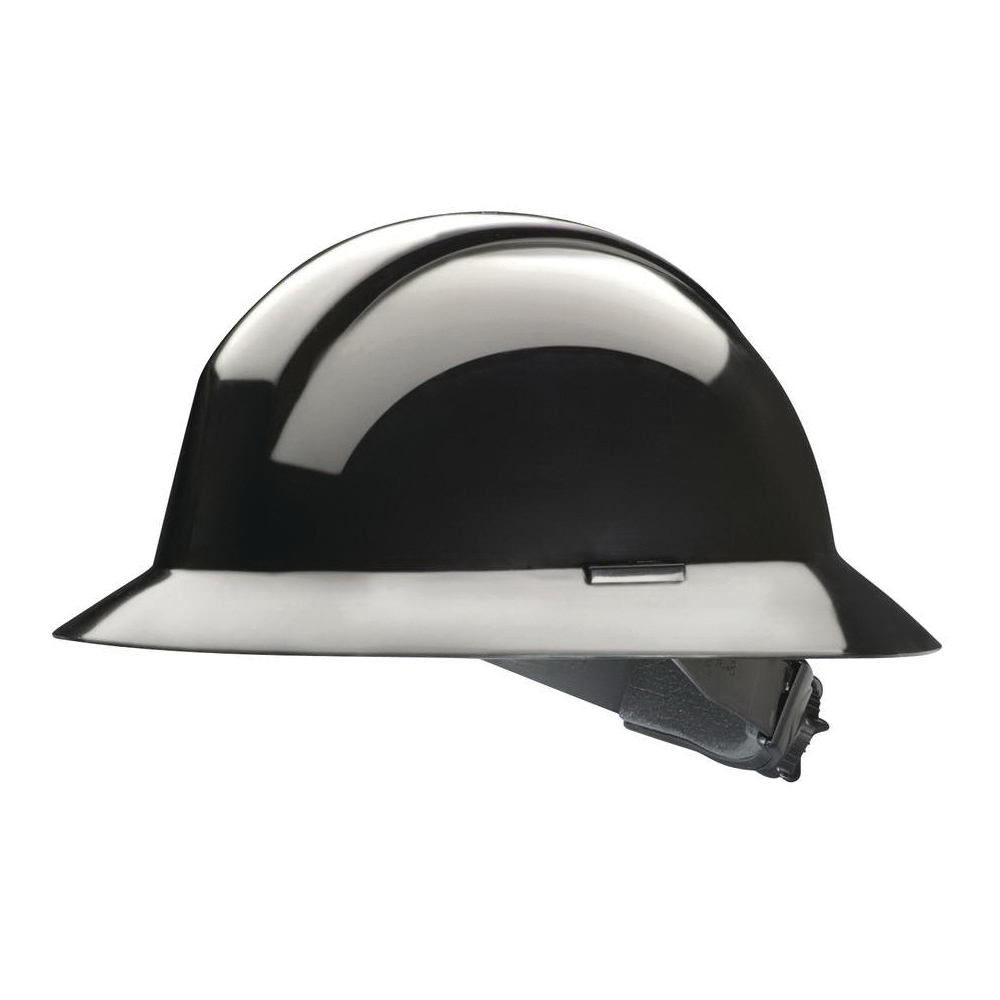 North® by Honeywell A49R110000 Everest Full Brim Hard Hat, SZ 6-1/2 Fits Mini Hat, SZ 8 Fits Max Hat, HDPE, 6-Point Nylon Suspension, ANSI Electrical Class Rating: Class E, ANSI Impact Rating: Type I, Ratchet Adjustment