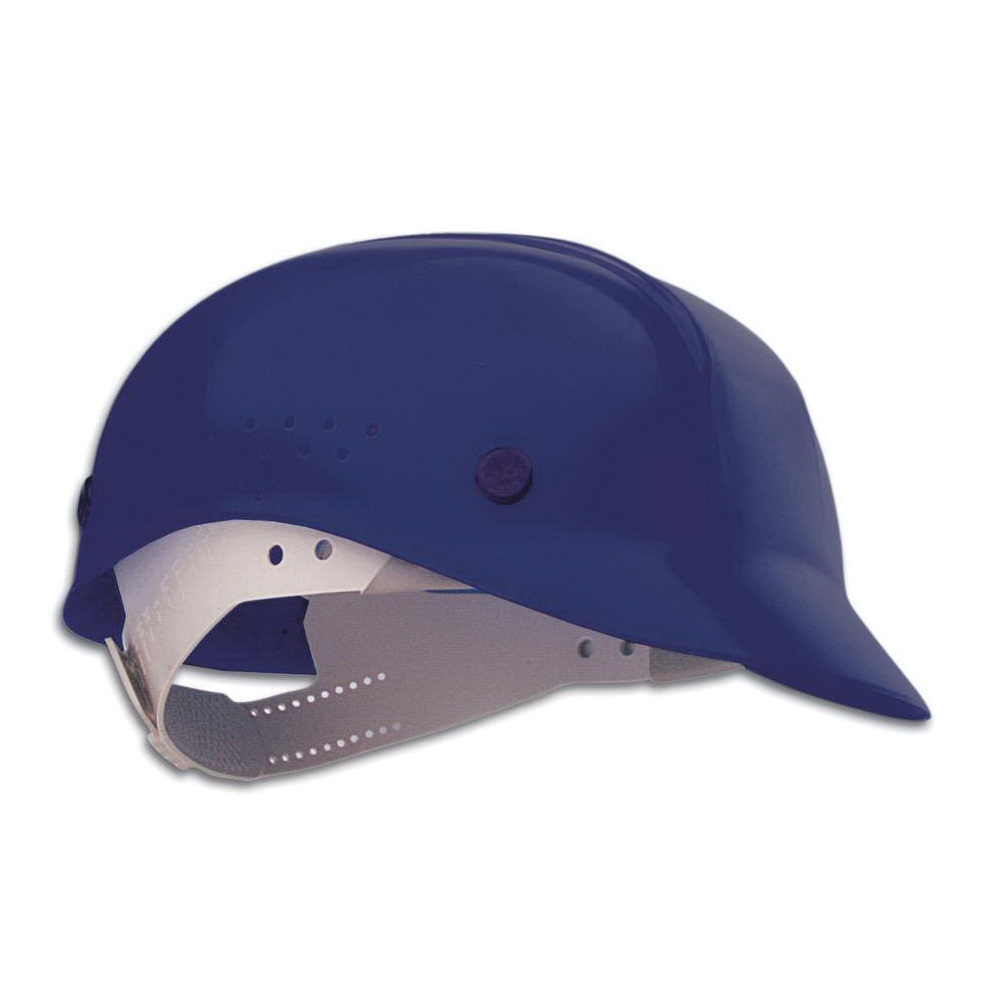 North® by Honeywell BC86080000 Front Brim Bump Cap, Universal, Navy, HDPE, 4-Point Pinlock Suspension