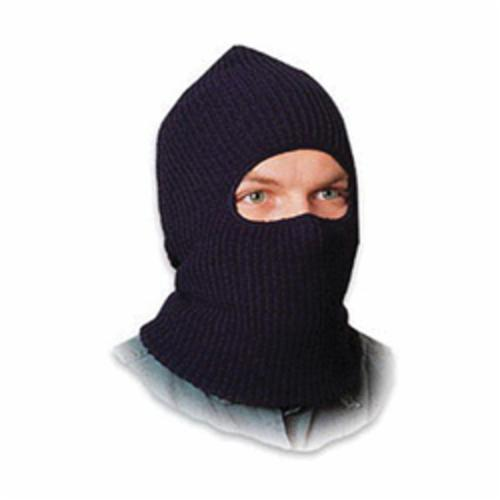 North® by Honeywell WL60 Winter Liner Balaclava, For Use With Hard Hats, Kasha Lining, Black
