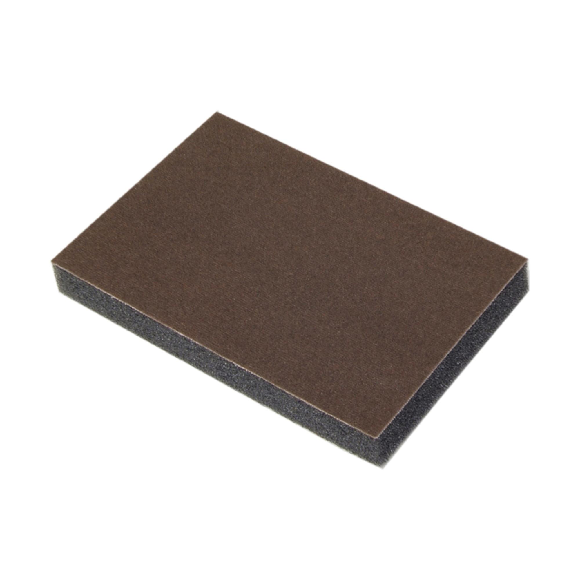 Norton® 07660700947 Economy Flexible Sanding Sponge, 4 in L x 3 in W x 1/2 in THK, 100 Grit, Medium Grade