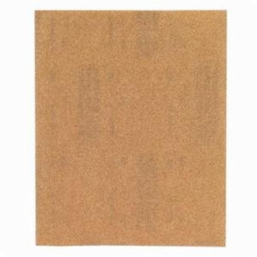 Norton® WoodSand™ Job Pack™ 07660701579 A511 Coated Sandpaper Sheet, 11 in L x 9 in W, 220 Grit, Very Fine Grade, Garnet Abrasive, Paper Backing