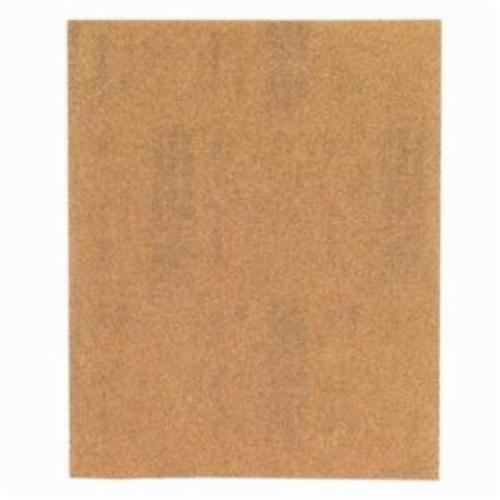 Norton® WoodSand™ Job Pack™ 07660701581 A511 Coated Sandpaper Sheet, 11 in L x 9 in W, 150 Grit, Fine Grade, Garnet Abrasive, Paper Backing