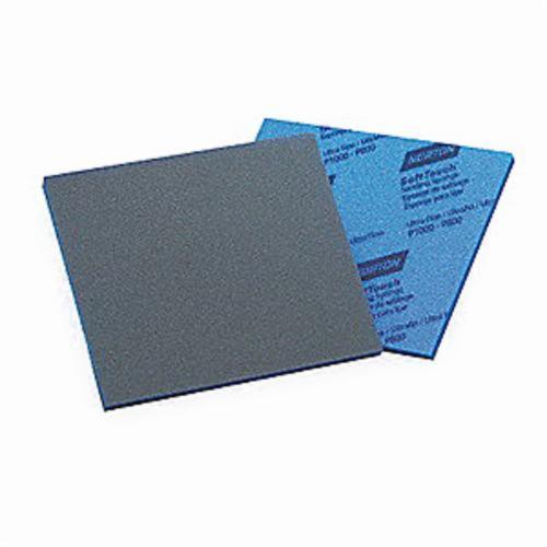 Norton® SoftTouch® 07660703074 Contour Sanding Sponge, 5-1/2 in L x 4-1/2 in W x 3/16 in THK, 60 Grit, Medium Grade