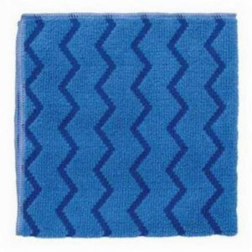 Norton® 07660705300 Cleaning Cloth, 16 in L x 16 in W, Microfiber, Blue
