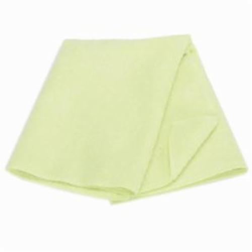 Norton® 07660705301 Polishing Cloth, 16 in L x 16 in W, Microfiber, Yellow