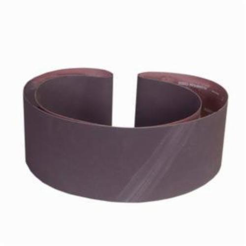 Norton® Metalite® 07660760082 R215 Narrow Coated Abrasive Belt, 6 in W x 108 in L, 80 Grit, Coarse Grade, Aluminum Oxide Abrasive, Cotton Backing