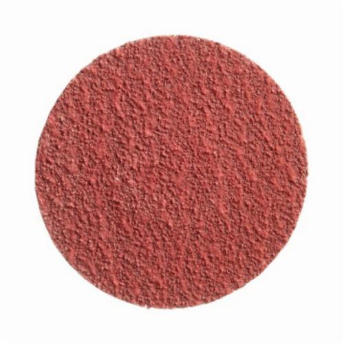 Norton® Merit® PowerLock® 08834160458 Ultra Ceramic Plus Coated Abrasive Quick-Change Disc, 3 in Dia, 36 Grit, Extra Coarse Grade, Ceramic Alumina Abrasive, Type TR (Type III) Attachment
