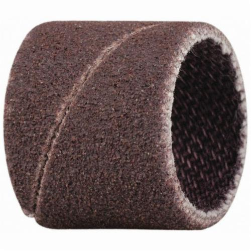 Merit® 08834196069 Coated Spiral Band, 1/2 in Dia x 1/2 in L, 120 Grit, Medium Grade, Aluminum Oxide Abrasive