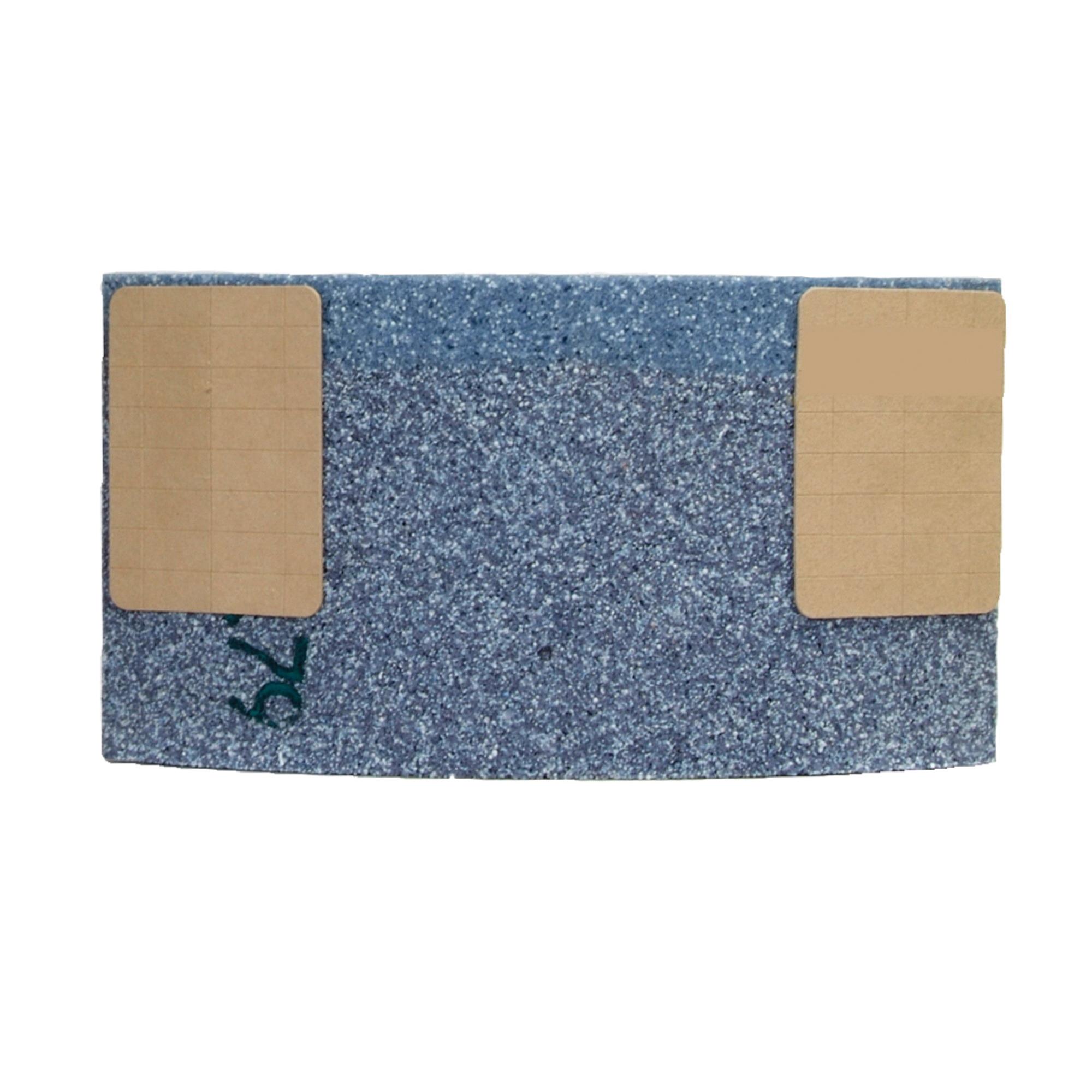 Norton® 61463604522 3SGP Type 31 Surface Grinding Segment, 6 in H x 11-1/4 in W x 2-1/4 in THK, 30 Grit, Ceramic Alumina Abrasive