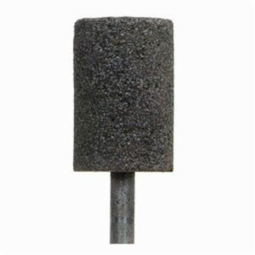 Norton® Charger™ 61463616474 Mounted Point, W221 Cylindrical Point, 1 in Dia x 1-1/2 in L Head, 1/4 in Dia Shank