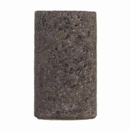 Norton® Gemini® 61463622217 57A24-R Portable Snagging Plug, 1-1/2 in Max Diameter, 2-1/2 in THK Head, 24 Grit, Coarse Grade, Aluminum Oxide Abrasive