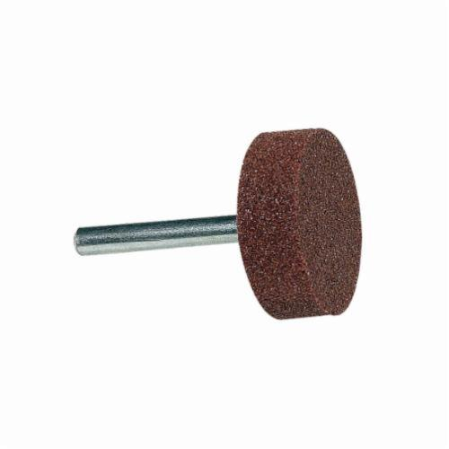 Norton® Gemini® 61463624422 38A Mounted Point, B52 Pointed Point, 3/8 in Dia x 3/4 in L Head, 1/8 in Dia Shank