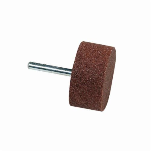 Norton® Gemini® 61463624592 38A Mounted Point, W242 Cylindrical Point, 2 in Dia x 1 in L Head, 1/4 in Dia Shank