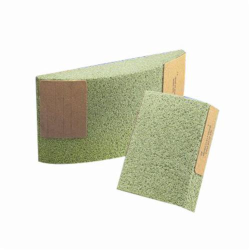 Norton® Quantum 61463677786 Type 31 Abrasive Segment, 6 in H x 5 in W x 1-1/2 in THK, 30 Grit, Ceramic Alumina Abrasive