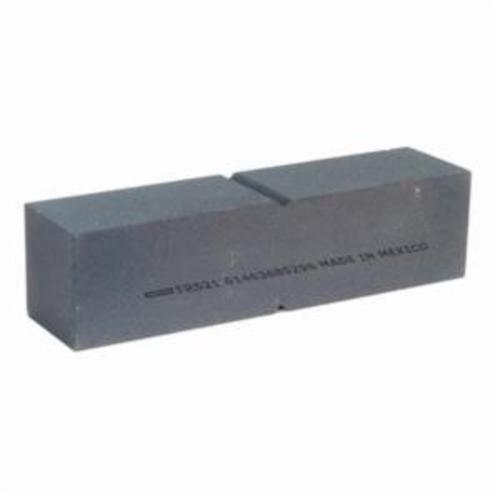 Norton® 61463685296 Plain Floor Rubbing Brick With Center Score, 8 in L x 2 in W x 2 in THK, C120-R Grit, Silicon Carbide Abrasive
