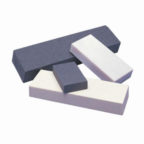 Norton® Crystolon® India® 61463685643 Combination Grit Abrasive Benchstone, 6 in L x 2 in W x 1 in H, 320 Grit