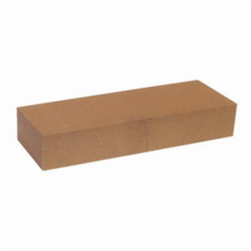 Norton® India® 61463685630 Single Grit Abrasive Benchstone, 8 in L x 2 in W x 1 in H, 2 in Dia, 240 Grit