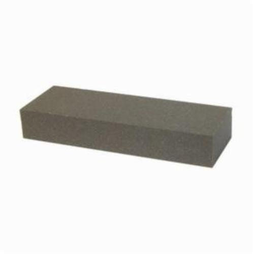 Norton® India® 61463685635 Single Grit Sharpening Benchstone, 8 in L x 2 in W x 1 in H, 100 Grit