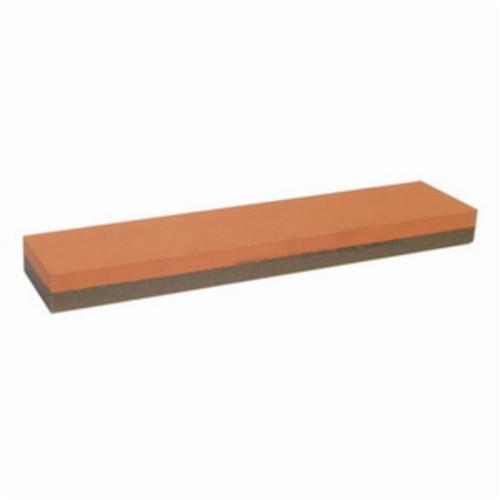 Norton® India® 61463685851 Combination Grit Abrasive Benchstone, 11-1/2 in L x 2-1/2 in W x 1 in H, 2-1/2 in Dia, 320 Grit