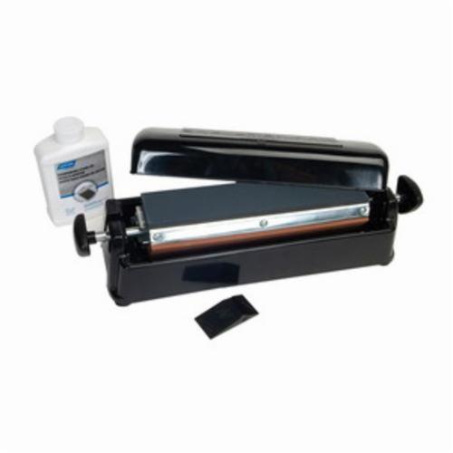 Norton® Crystolon® India® 61463685960 Multi-Oilstone Sharpening System, 11-1/2 in L x 2-1/2 in W x 1/2 in H