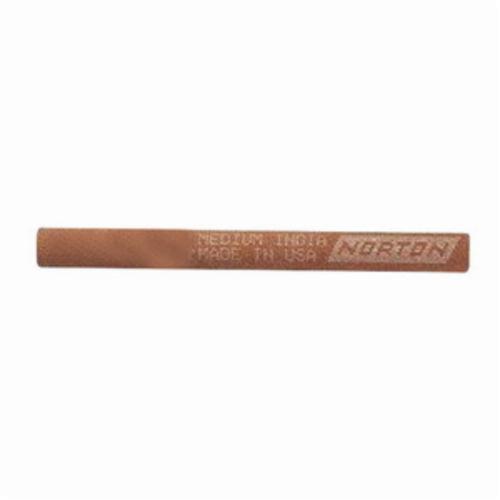 Norton® India® 61463686400 Abrasive File, 4 in L x 1/2 in W