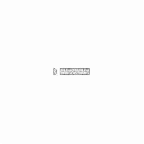 Norton® India® 61463686395 Abrasive File, 4 in L x 1/2 in W