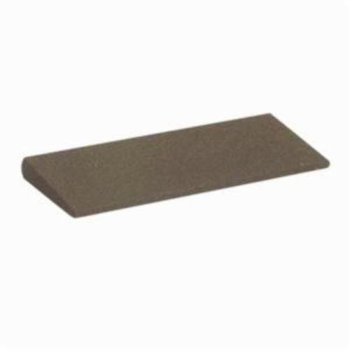 Norton® India® 61463687170 Round Edge Slip, 4-1/2 in L x 1-3/4 in W x 3/8 in H, 100 Grit