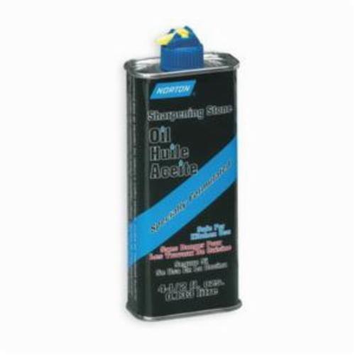 Norton® 61463687775 XB2 Sharpening Stone Oil, 32 oz Can, Liquid, White