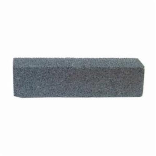 Norton® 61463687830 Plain Hand Rubbing Brick, 8 in L x 2 in W x 2 in THK, C24 Grit, Silicon Carbide Abrasive