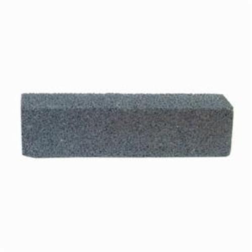 Norton® 61463687830 Plain Hand Rubbing Brick, 8 in L x 2 in W x 2 in THK, C24 Grit, Silicon Carbide Abrasive