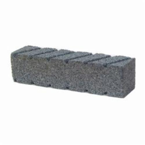 Norton® 61463687840 Plain Hand Rubbing Brick, 6 in L x 2 in W x 2 in THK, C20 Grit, Silicon Carbide Abrasive