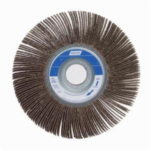 Norton® Metalite® 63642502674 R207 Unmounted Coated Flap Wheel, 4 in Dia, 1 in W Face, P80 Grit, Medium Grade, Aluminum Oxide Abrasive