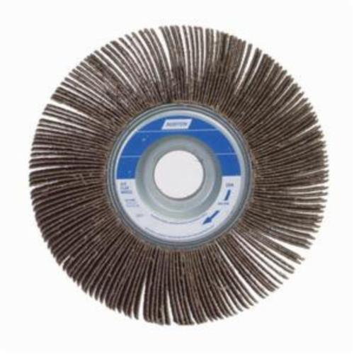 Norton® Metalite® 63642502675 R207 Unmounted Coated Flap Wheel, 4 in Dia, 1 in W Face, P120 Grit, Medium Grade, Aluminum Oxide Abrasive