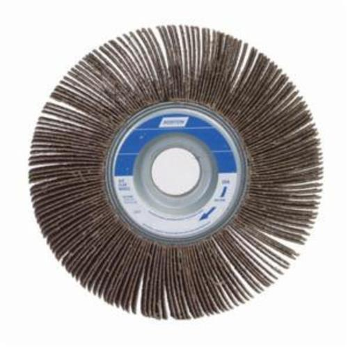 Norton® Metalite® 63642502686 R207 Unmounted Coated Flap Wheel, 6 in Dia, 1-1/2 in W Face, P60 Grit, Coarse Grade, Aluminum Oxide Abrasive