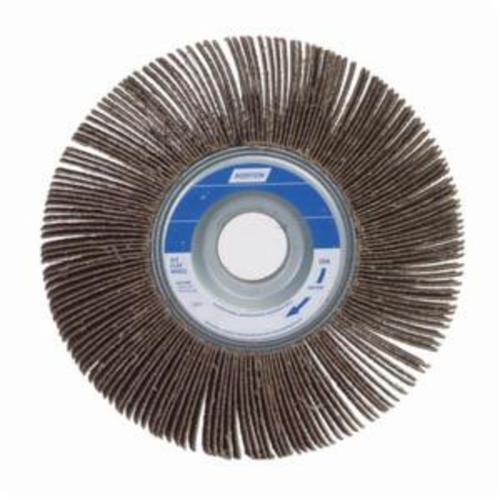 Norton® Metalite® 63642502698 R207 Unmounted Coated Flap Wheel, 8 in Dia, 1 in W Face, P80 Grit, Medium Grade, Aluminum Oxide Abrasive