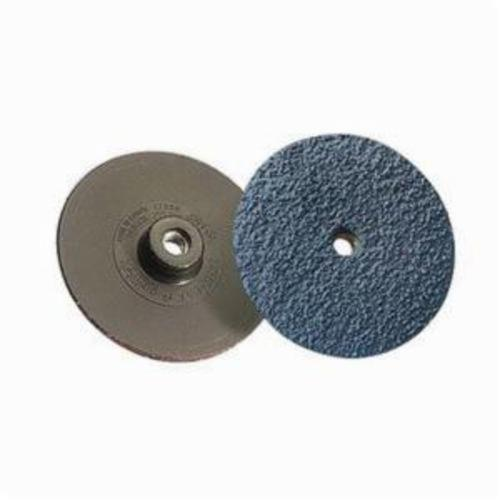 Norton® NorKut™ 63642503657 Coated Abrasive Quick-Change Disc, 3 in Dia, 36 Grit, Extra Coarse Grade, Zirconia Alumina Abrasive, Type TS Attachment