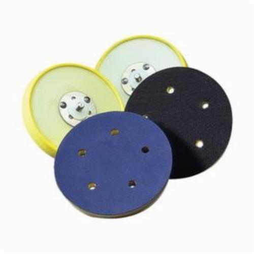 Norton® 63642506132 Low Profile Medium Density Backup Pad, 5 in Dia Pad, PSA Attachment
