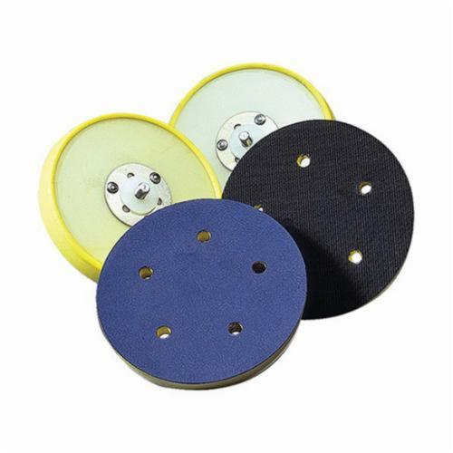 Norton® 63642506133 Medium Density Backing Pad, 6 in Dia Pad, PSA Attachment
