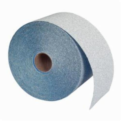 Norton® Dry Ice® No-Fil® 63642506257 A975 Hook and Loop Coated Abrasive Roll, 13 yd L x 2-3/4 in W, P180 Grit, Fine Grade, Ceramic Alumina Abrasive, Anti-Loading Paper Backing