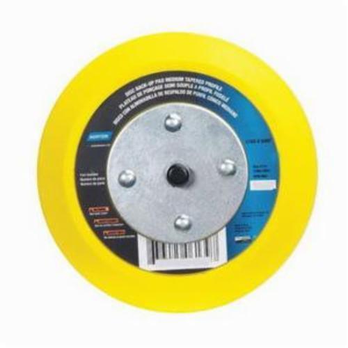 Norton® 63642543112 Medium Density Tapered Backup Pad, 8 in Dia Pad, PSA Attachment