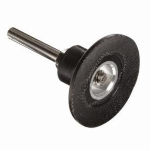 Norton® Speed-Lok® 63642543220 Hard Density Backup Pad, 3 in Dia Pad, Type TS Attachment