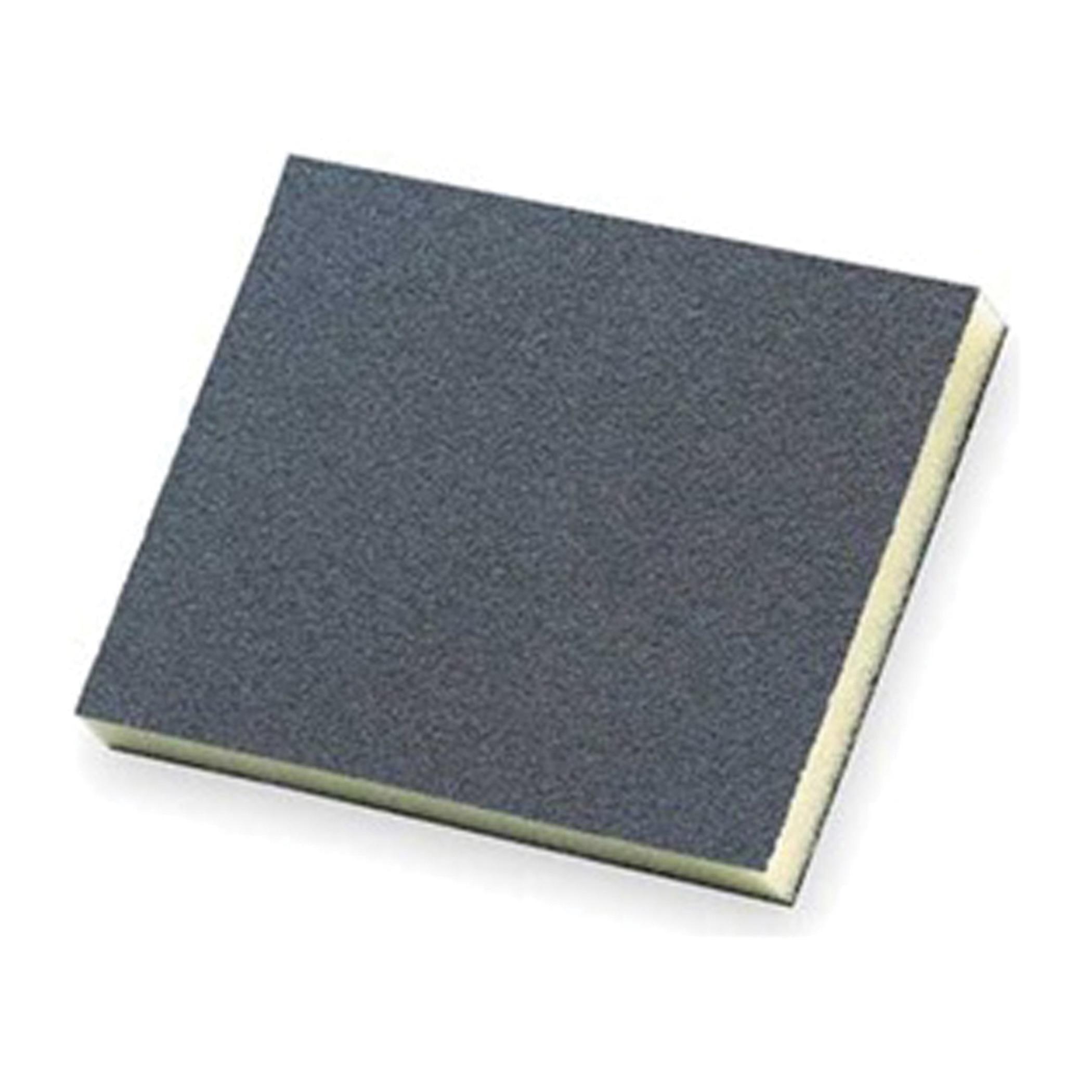 Norton® 63642552868 Economy Sealer Sanding Sponge, 4-3/4 in L x 3-3/4 in W x 1/2 in THK, 220 Grit, Very Fine Grade